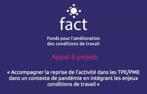 Nouvel appel à projet FACT