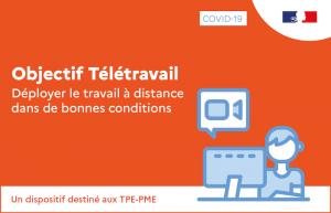 #Covid19 - Objectif télétravail : un appui-conseil gratuit pour déployer le travail à distance en TPE-PME