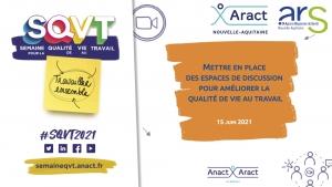 Mettre en place des espaces de discussion pour améliorer la QVT : retour sur notre webinaire du 15 juin 2021