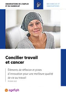 Concilier travail et cancer : réflexion et pistes d'action pour une meilleure QVT