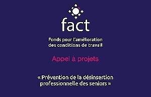 Prévention de la désinsertion professionnelle des seniors : prolongation de l'appel à projets Fact