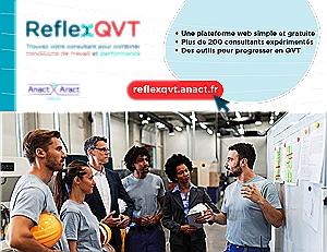 Mise en relation entreprises et consultants dans le champ de la QVT : notre plateforme ReflexQVT