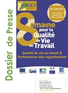 Semaine pour la Qualité de Vie au Travail -  Édition 2011