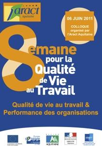 Qualité de Vie au Travail : un sondage du réseau Anact-Aract - Édition 2011