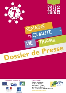 SONDAGE : Prévenir les TMS en Aquitaine...