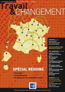 N°346 Spécial régions : attractivité, innovation sociale, un réseau pour les conditions de travail