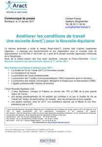 Création de l'Aract Nouvelle-Aquitaine