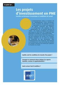 Investissement : les projets en PME