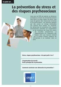 Stress et risques psychosociaux : quelle prévention ?